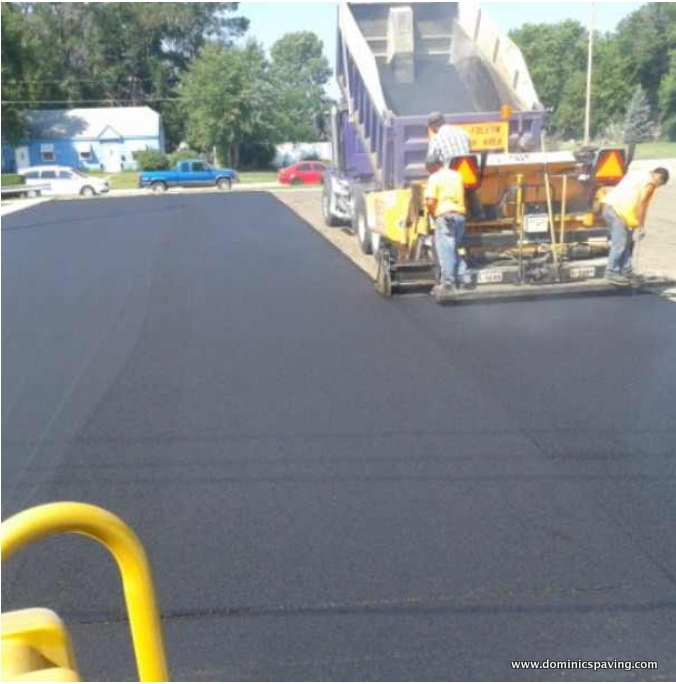 Asphalt Driveway Parking Lot Paving Contracting Company